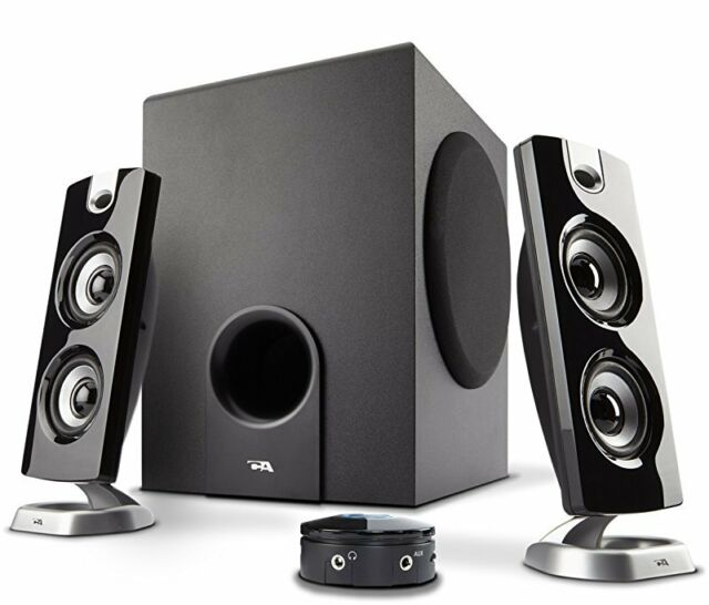 Cyber Acoustics 30 Watt Powered Speakers with Subwoofer for PC and Gaming System