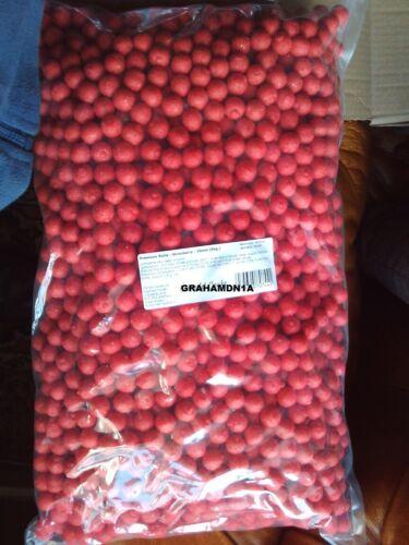 1 kg STRAWBERRY 15mm Boilies Carp Bait SHELF LIFE