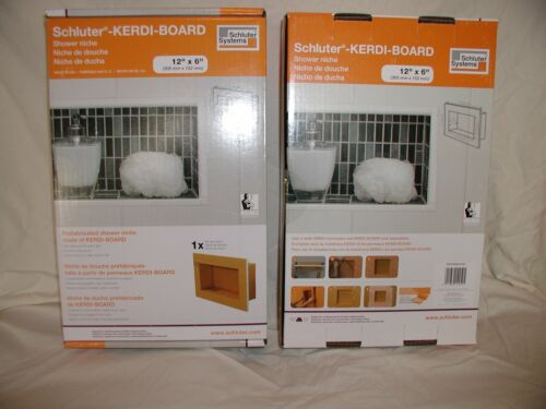 You Pick the Size You Want Schluter Kerdi Shower Niche  ~ 4 Sizes.. ~