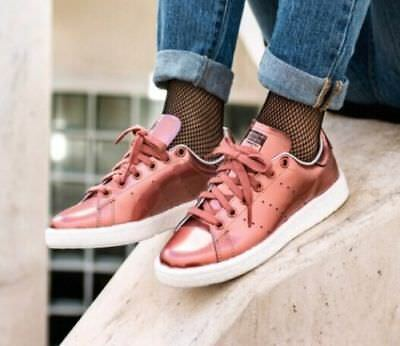 Adidas Stan Smith Boost Women Bronze Copper Metallic BB0107 | eBay
