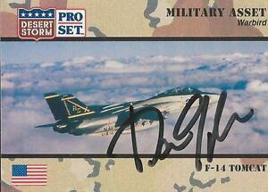 Dan Quayle 1991 Pro Set Desert Storm Autograph Card #221