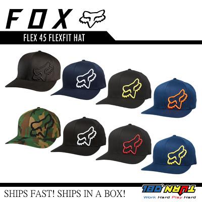 Fox Mens Flex 45 Flex-Fit Hat
