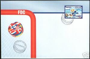 Icehockey World Championships Finland FDC 2003