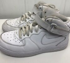 best website a1c45 a255d item 3 Nike Air Force 1 Mid PS White Leather Boys Youth Shoes size 3Y -Nike  Air Force 1 Mid PS White Leather Boys Youth Shoes size 3Y