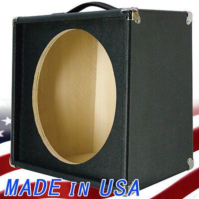 1x15 empty guitar speaker cabinet for 15 jbl e130 or e140 bronco black tolex ebay. Black Bedroom Furniture Sets. Home Design Ideas