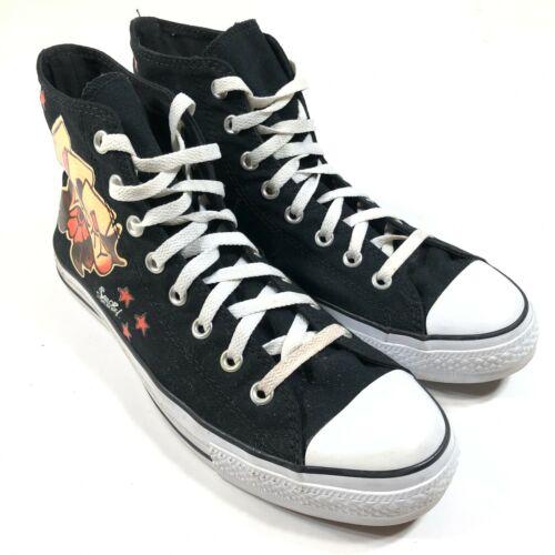 Converse All Star x Sailor Jerry Black Chucks Mens