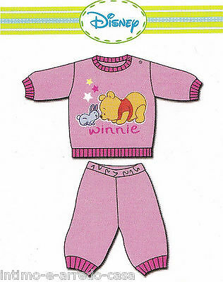 Ciniglia bimbo WINNIE WD10671 DISNEY baby Pigiama bimba Maniche lunghe