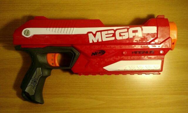 e6912df0847 Nerf Gun Nerf N-Strike Elite Mega Magnus Blaster Gun TESTED WORKS 2012  HASBRO