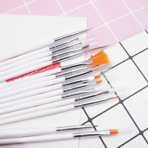15PCS Painting Brushes Clay Ceramic Pottery Eye Hook Line Pen Doll Makeup Tools
