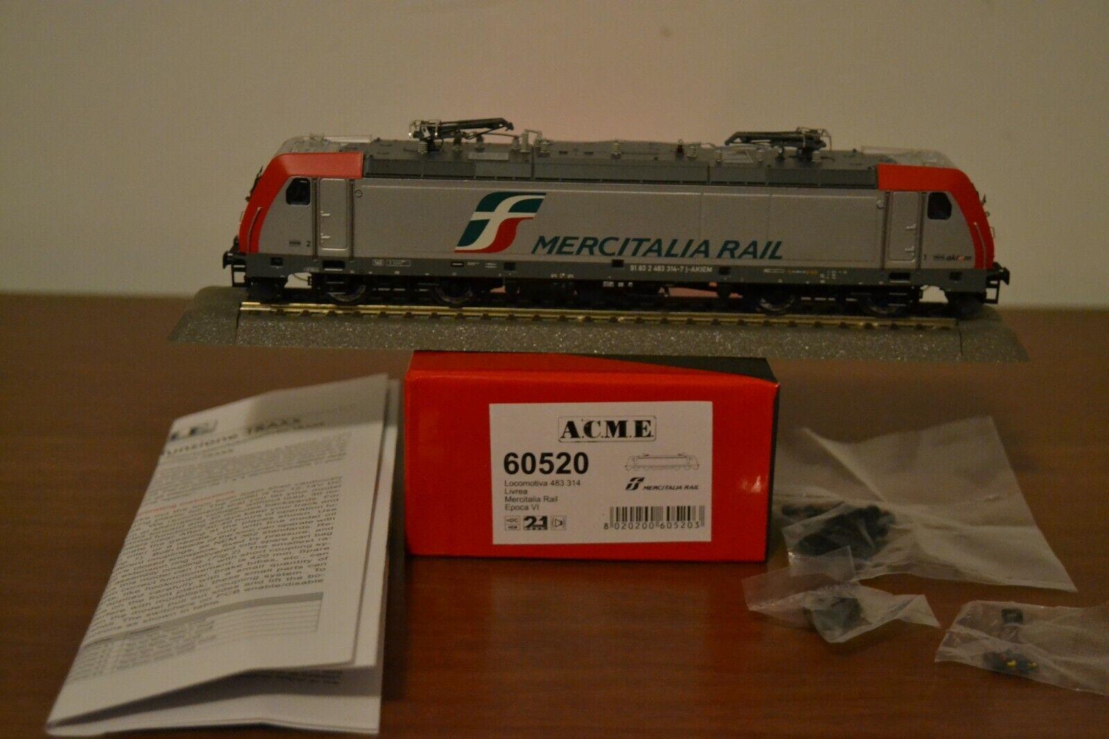 Acme 60520 Traxx 2E 483.314 Mercitalia Rail FS HO 1 87