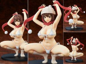Q-six-Tsundero-Yoshii-Yuka-Cast-Off-Top-Removable-Sexy-Figurine-Statue-No-Box