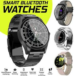 NEW-HD-Display-Bluetooth-Smart-Watch-Blood-Pressure-Men-Women-For-Android-iphone