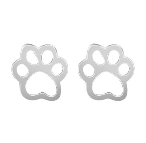 Aretes pendientes oro plata Muévela pata hundepfote gato Perro
