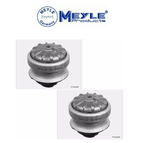For Benz W124 300CE 300E 300TE Pair Set of 2 Engine Mounts Meyle 1242402217MY