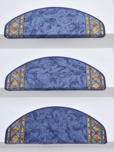 15er Set Stufenmatten Treppenmatten Treppenschoner CHEOPS oder JENA 65x24x4 cm
