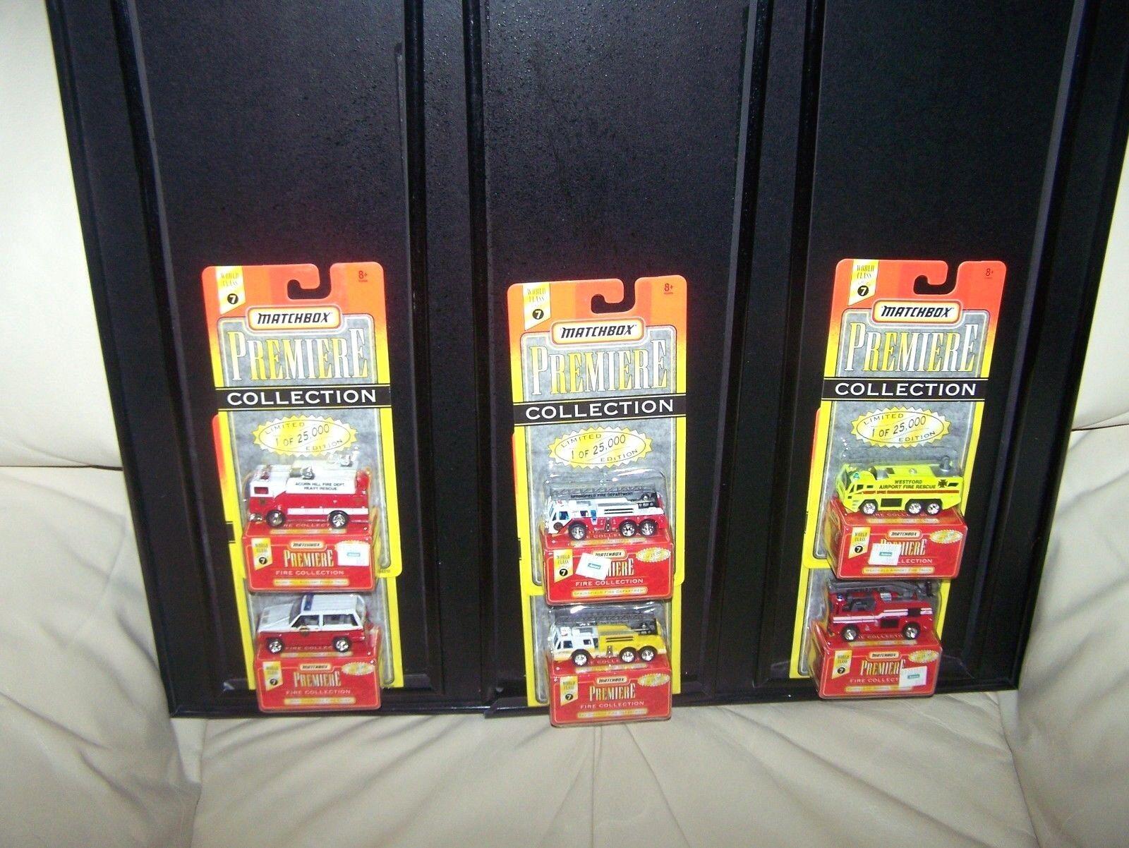 1996 - matchbox - premiere - sammlung - set - serie 7 - 1 der 25.000 - mib