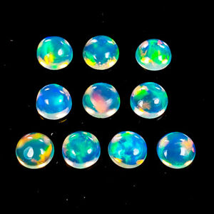 3-mm-Sweet-Lots-Natural-1-1-Ct-Oval-Multi-Color-Opal-Ethiopia-S3087