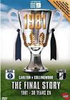 AFL The Final Story 1981 Carlton VS Collingwood DVD R4