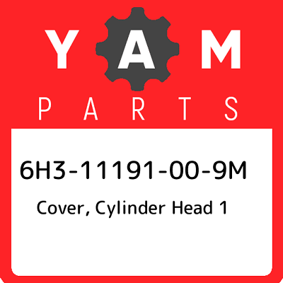 1995 YAMAHA 60HP COVER CYLINDER HEAD 6H3-11191-00-9M