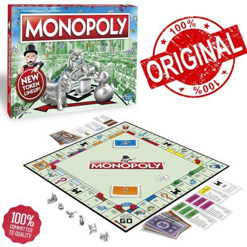 Original Genuine Hasbro Monopoly Classic Edition Traditional Family Game 8 Token