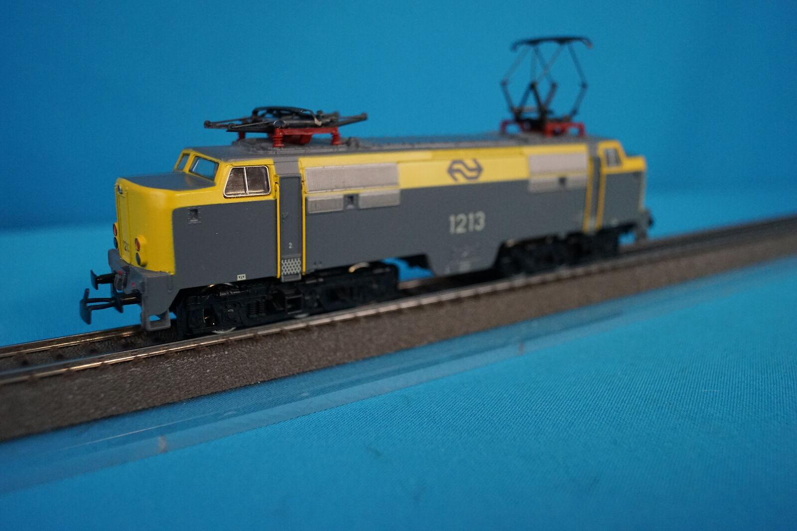 Marklin 3168 NS Electric Locomotive Br 1213 gituttiogrigio nuovo OVP