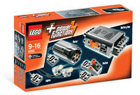 8293 Lego Power Functions Motor Set Technic Ages 9-16 / 10 Pieces