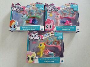 My Little Pony Land & Sea Fashion ~ Fluttershy, Pinkie Pie & Rainbow Dash