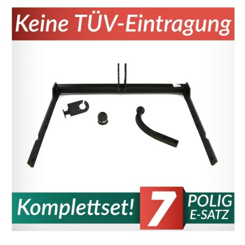 Anhängerkupplung starr+E-Satz 7p Für Ford Mondeo MK IV Kombi 07-14 Kpl