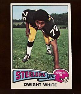1975-Topps-Football-235-Dwight-White-NM