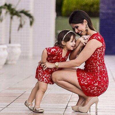 Baby Girls Lace Flower Princess Skirt Kids Half Sleeve Party Tutu Dress Summer