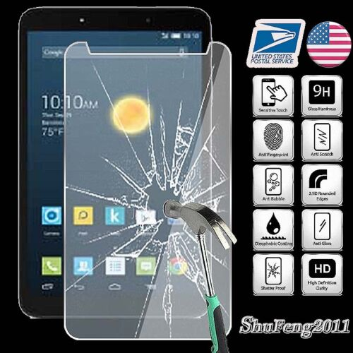 Tempered Glass Screen Protector For Alcatel OneTouch Hero 8 Tablet