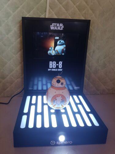 111 101 NEUF Star Wars BB-8 store display rare-joue Video