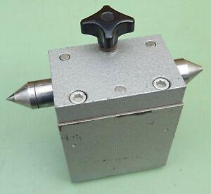 HM zentrierspitze contrapunto para fresadora teilapparat máquina de rotación banco de giro