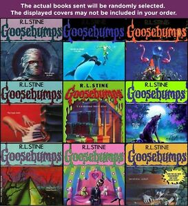 FIVE-PACK-BUNDLE-LOT-OF-GOOSEBUMPS-BOOKS-R-L-STINE