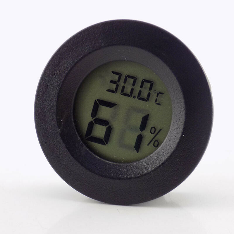 Digital LCD Thermometer Indoor/Outdoor Hygrometer Temperature Humidity Display