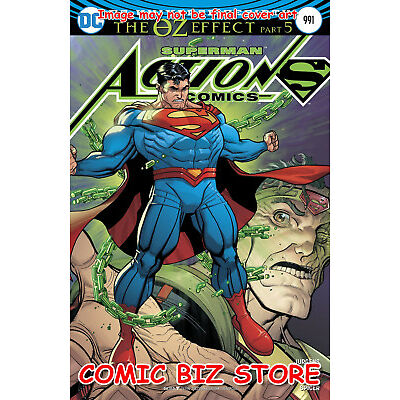 ACTION COMICS #991 (2016) 1ST PRINTING LENTICULAR VARIANT CVR SUPERMAN OZ EFFECT