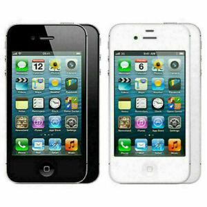 Apple-iPhone-4-8GB-16GB-32GB-Unlocked-Black-White-Smartphone-12M-Warranty