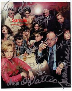 Details about THE SOPRANOS Gandolfini Bracco Cast Signed Autographed  Reprint Photo #1
