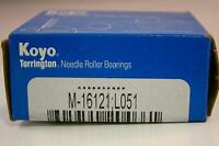 (2) Koyo Torrington Needle Roller Bearings M-16121 L051