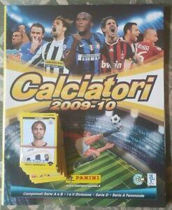 SET-CALCIO-PANINI-CALCIATORI-2009-10-2010-ALBUM-VUOTO-LOTTO-104-FIGURINE-STICKER