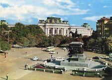 Alte Postkarte - Sofia - Platz Narodno Sobranie