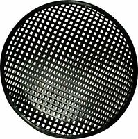 10 Inch Subwoofer Speaker Covers Waffle Mesh Grill Grille Protect Guard on sale