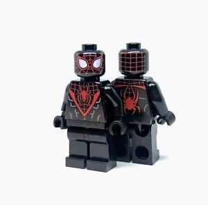 NEW LEGO MILES MORALES MINIFIG figure minifigure 76113 spider-man spider-verse