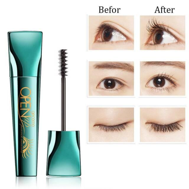 4D Peacock Mascara Waterproof Volume Curling Eyelash Extension  Makeup Cosmetic