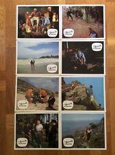 Verdammten der blauen Berge (11 Kinoaushangfotos '64) - Lex Barker / Ann Smyrner