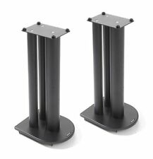 Atacama HMS 1.1 Speaker Stands 500mm Satin Black (Pair)