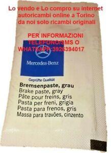 3 x Genuine Mercedes BUSTINE PASTA pastiglie dei freni A0019899451