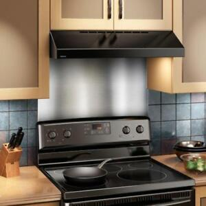 Image Is Loading Broan Backsplash Stainless Steel Durable Metal Kitchen 24