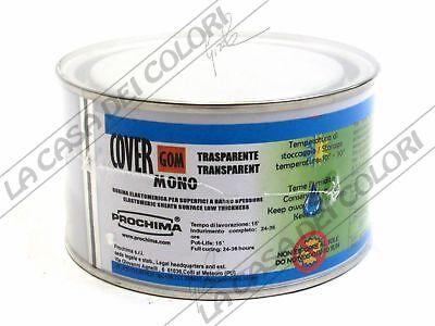 Aggressivo Prochima - Covergom Mono - Trasparente - 250 G - Elastomero Monocomponente Colori Armoniosi