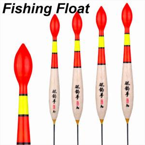 Dauerhaft-Heiss-2Arten-Gewicht-Tail-Bobber-Floats-der-Fir-Holz-von-Paulownia